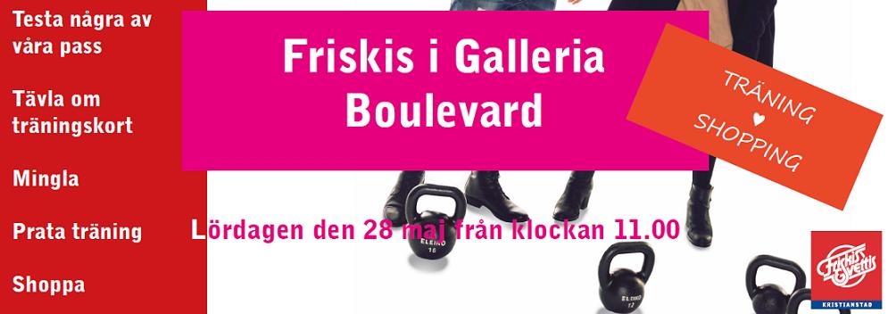 Banner gallerian hjärta Friskis